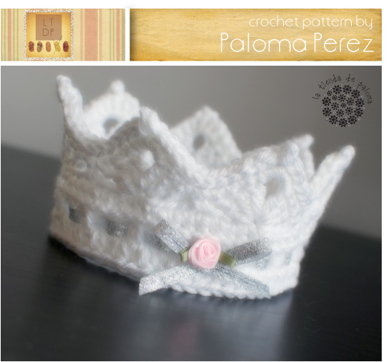 Free Crochet Pattern Baby Crown : Crochet Baby Crown Pattern - Ariel Crown Pattern ...