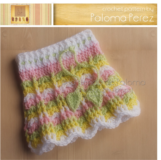 Free Crochet Pattern Child Skirt : Primavera Skirt Pattern - Crochet Baby Skirt Pattern ...